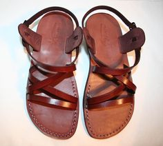 Handmade sandals from Israel. $50
