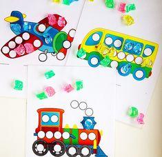 Рисунки с заплатками на тему транспорта - ссылка для скачивания ниже - Babyblog.ru