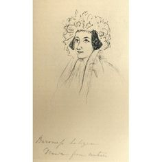 Louise Lehzen1784-1870 German Baroness She Became Governess To And Later Adviser And Companion To Queen Victoria From A Sketch By Queen Victoria Before Her Accession From The Book The Girlhood Of Quee