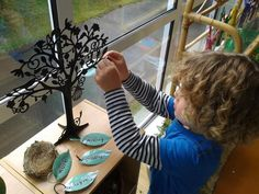 """A 'Belonging' sign-in tree from Tu Tamariki - Play Based Learning ("""",)"""