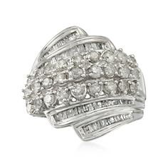 1.98 ct. t.w. Diamond Ring in Sterling Silver
