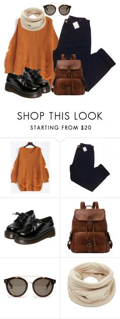 """Ripped Sweater"" by lululafitte ❤ liked on Polyvore featuring Urban Outfitters, WithChic, STELLA McCARTNEY and Helmut Lang"