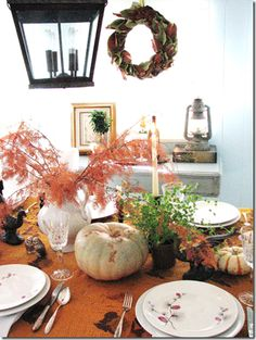 #Thanksgiving table by Lauren at Pure Style Home.