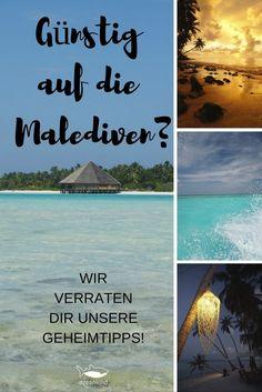 Wir teilen mit Dir unseren Geheimtipp für die Malediven: 2.500 Euro für 3 Wochen für 2 Personen. #malediven #günstigreisen #geheimtipp #insidertipp