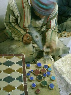 Moroccan mosaic...   - Maroc Désert Expérience tours http://www.marocdesertexperience