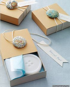 Love the idea of creating a bunch of elastic button bands for closing purses, boxes, notebooks, journals and cards!