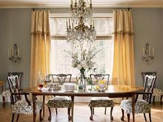 Dining room color combination