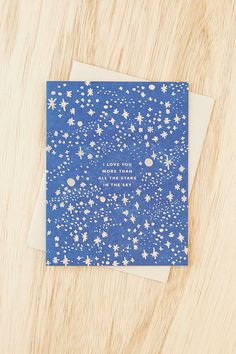 Hello! Lucky Love You More Card - Urban Outfitters