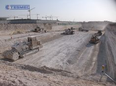 TESMEC-TRENCHERS-1475 ROCK HAWG-SAUDI ARABIA- METRO STATION-EDUCATION CITY