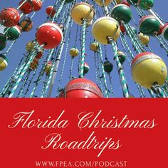 Florida Christmas events happening this year. Take a roadtrip with your family this year for some holiday fun. Christmas Events, Christmas Bulbs, Love And Forgiveness, Holiday Fun, Holiday Decor, Beautiful Day, Homeschool, Road Trip, Merry