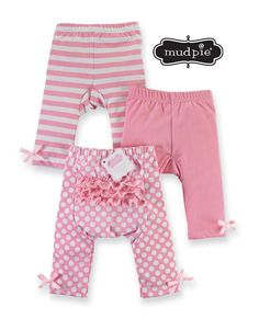 Mud Pie Light Pink Playground Shorties 0-6M, 9-12M, 12-18M, 2T-3T - DISCONTINUED #MudPie #Shorts #Everyday