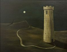 Gertrude Abercrombie (1909-1977) .- The Ivory Tower, 1945