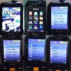 2015 Russische toetsenbord waterdichte stofdicht 4800 mAh batterij power bank fakkel FM mobiele mobiele telefoons A8 + P492 Profile Settings, Dual Sim, User Profile, Multimedia, Calendar, Phone, Telephone, Mobile Phones, Menu Calendar