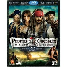 Pirates of the Caribbean: On Stranger Tides (Five-Disc Combo: Blu-ray 3D / Blu-ray / DVD / Digital Copy) Released Oct 18, 2011