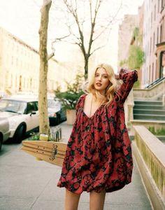 beautiful romantic, bubble hem dress