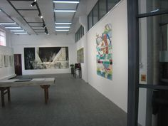 Beijing Art Space installation shot - 'from Paper', July 2012