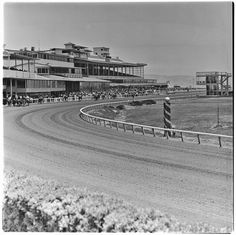 Caliente Racetrack, Tijuana, Baja California June 1964, by Harry Crosby