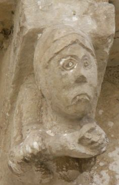 Modillons historiés Romanesque Art, Art Roman, Sculpture, Statue, Decoration, Big Top, Dekoration, Sculpting, Romanesque
