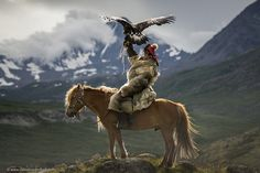Golden Eagle Hunter - Altai Mountains, Mongolia - Photo by David Baxendale