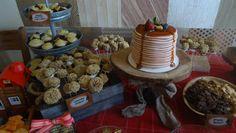 The lumberjack birthday spread.