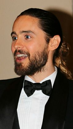 Jared Leto. Looking forward to seeing him more often.  DALLAS BUYERS CLUB ... maybe the best movie ever..