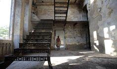 Spookachtig mooie beelden van desolate gebouwen: Een voormalig museum in Rio de Janeiro, Brazilië.© Reuters