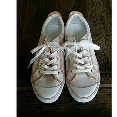 Coach Sneakers Barrett style, gently used, no major marks or stains, box included. Coach Shoes Sneakers
