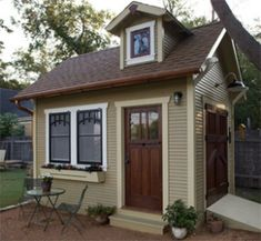 Tiny House Idea by home sweet home. Love the garden box. not a tiny house fan.