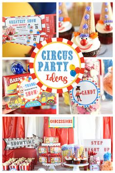 Circus Party Ideas-T