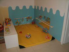 coin bébé Plus Plus Infant Room Daycare, Infant Classroom, Toddler Playroom, Baby Corner, Kids Corner, Toddler Room Organization, Daycare Spaces, Home Daycare Rooms, Home Childcare