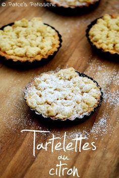 Patces Patisserie: Tartelettes au Citron [Französisch für Fortgeschrittene...Genießer!] Berry Tart, High Tea, Bakery, Berries, Snacks, Chocolate, Breakfast, Ethnic Recipes, Sweet