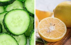 Quema grasa con esta bebida de pepino y limón - Adelgazar en casa All Body Workout, Cucumber, Menu, Fruit, Vegetables, Breakfast, Nature, Recipes, Food