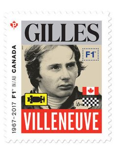 Canada Post has produced a series of five special stamps to honour five legendary drivers who together have won 17 Formula 1 Grand Prix du Canada races.