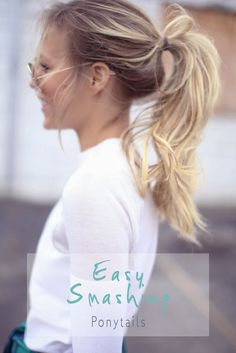 Smashing Hairstyles for Mornings You Missed Your Alarm! #hairstyle