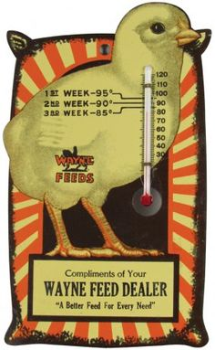 Wayne Feed Dealer Thermometer