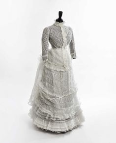 Afternoon dress, 1873-74 From Daguerre
