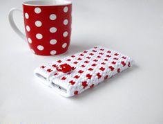 Petite WHITE KITTY Galaxy S5 case White Kitty iPhone by PetiteLeRu, $16.00