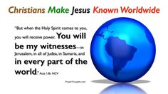 acts 1:8, images - Google Search