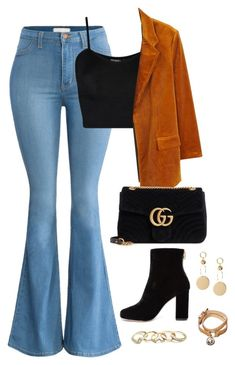 """""""Untitled #4587"""" by magsmccray on Polyvore featuring WearAll, MANGO, Gucci, Joie, GUESS and Mulberry"""
