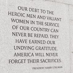 Top 100 memorial day quotes photos Land of the free, because of the brave! 🇺🇸💙 …  Our debt to the heroic men and women who made the ultimate sacrifice while serving our country can never be repaid. They have earned our undying gratitude. …  Greater love hath no man than this, that a man lay down his life for his friends. (John 15:13) …  May we never forget their sacrifices. ❤️ #memorialday See more http://wumann.com/top-100-memorial-day-quotes-photos/