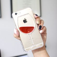 Its okay to express your love for alcohol with this great phone case.The wine and beer  inside of the glass moves around as phone is in motion. Perfect for the wine and beer lovers!!Get yours.PLEASE READ 8-10 BUSINESS DAYS FOR PROCESSING!!!