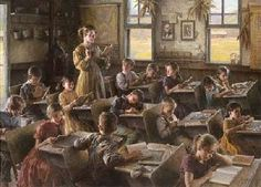 """Country Schoolhouse, 1879"" by Morgan Weistling"