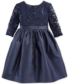 Bella by Marmellata Little Girls' Sparkle Lace Dress