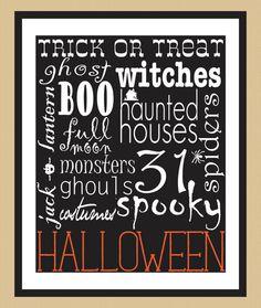 Halloween printable!