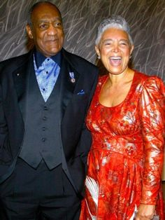 Bill & Camille Cosby, married since 1964 withstanding the death of their grown son Ennis and a child out of wedlock.
