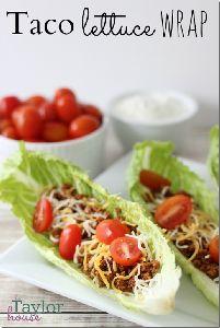 Taco Lettuce Wraps
