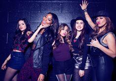 Fifth Harmony backstage of KIIS FM Jingle Ball 2013 for Rolling Stone Magazine