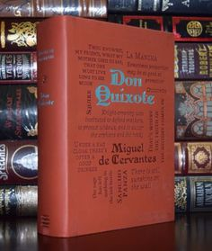 Don Quixote by Miguel de Cervantes Brand New Unabridged Deluxe Soft Leather Feel