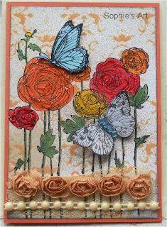 Sophie's Art: Schmetterlinge  -  butterflies