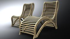 Super unique computer-made chairs. Designed by John Heida, Brooklyn architect, and utilizes 3D modeling and computer software to robotically mill the chair using CNC technology. Want one? jtheida@gmail.com
